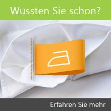 Schneiderei Pflegezeichen Informationen