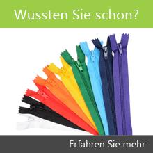 Schneiderei Reißverschluss Informationen
