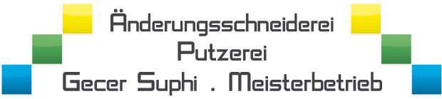 Änderungsschneiderei und Putzerei S. Gecer Retina Logo